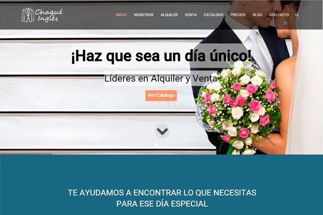 Desarrollo de aplicación web con wordpress