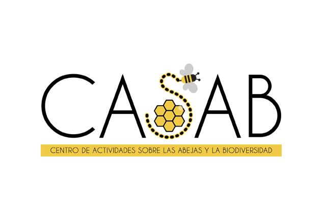 Logo para Centro de Actividades sobre las Abejas y ala Biodiversidad